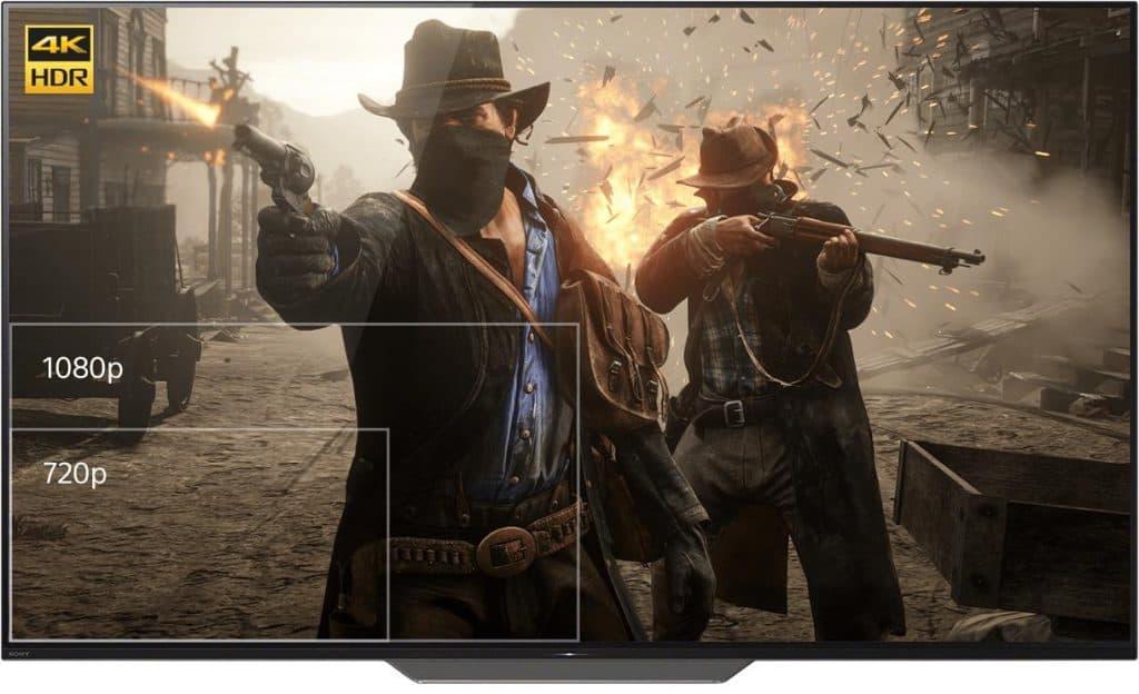 Obraz na PlayStation 4 PRO
