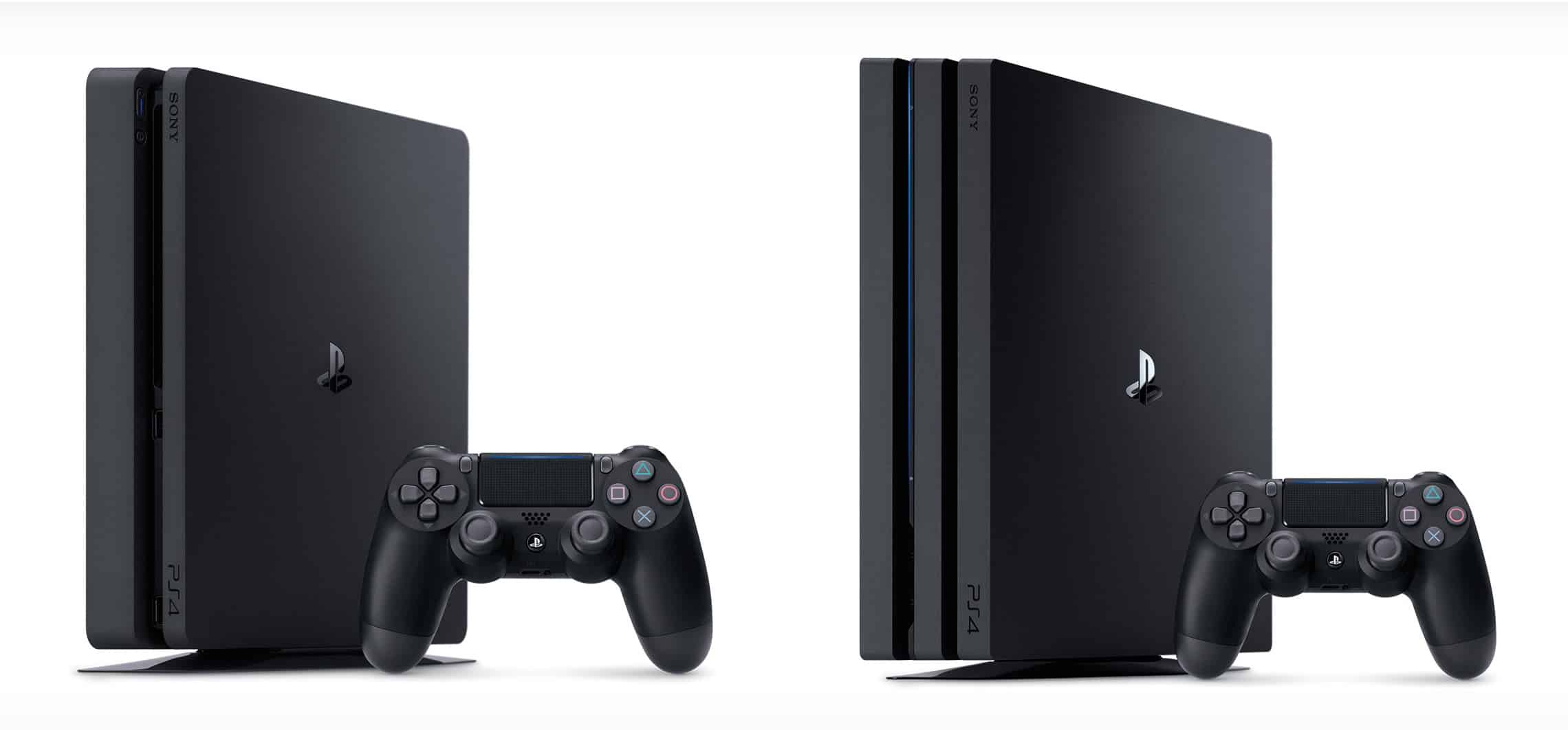 PS4 slim vs PS4 pro